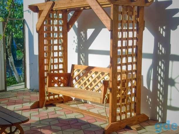 Деревянная пергола для дачи, фотография 3