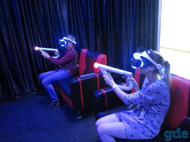 Погружение в мир виртуальной реальности, фотография 8