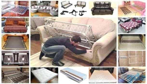 Механизмы раскладывания дивана клик кляк выкатной книжка аккордеон, фотография 1