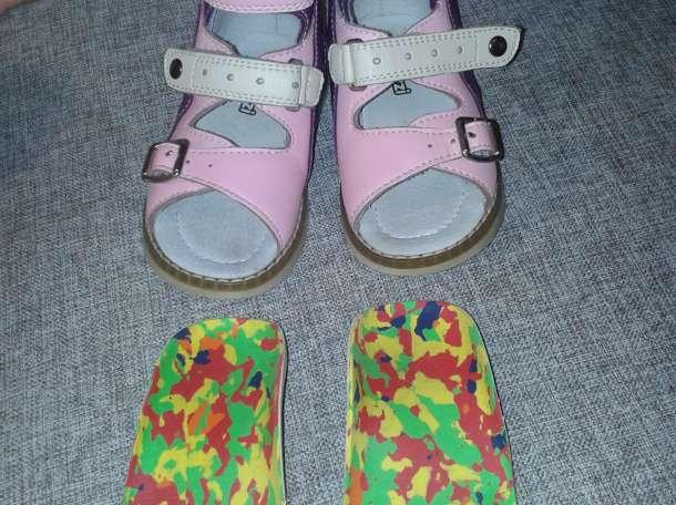 Продам отличные ортопедические кожаные сандалии , фотография 7
