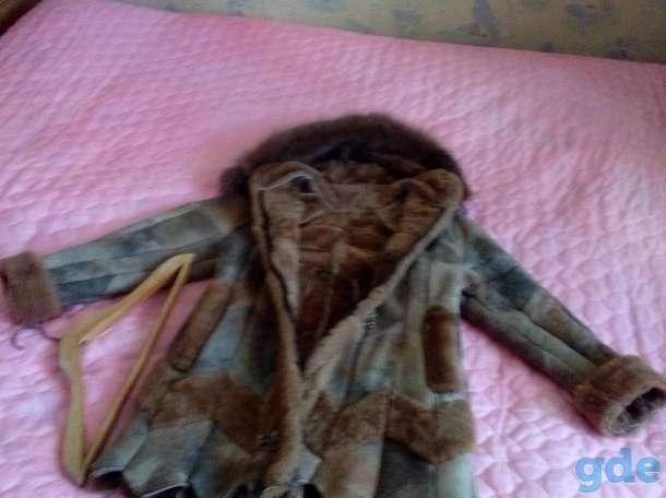 Продаётся натуральная дублёнка, а также очень тёплое пальто. Возьмёте не пожалеете., фотография 1