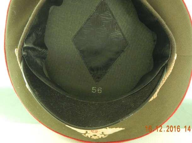 Фуражка офицерская размер 56, фотография 2