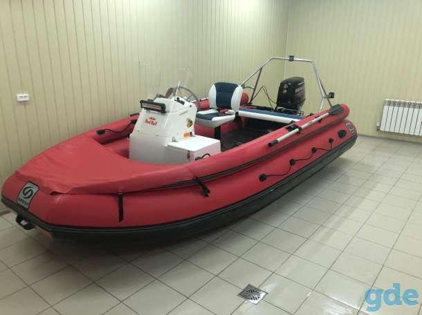 Водомётная лодка Фрегат 430, фотография 2