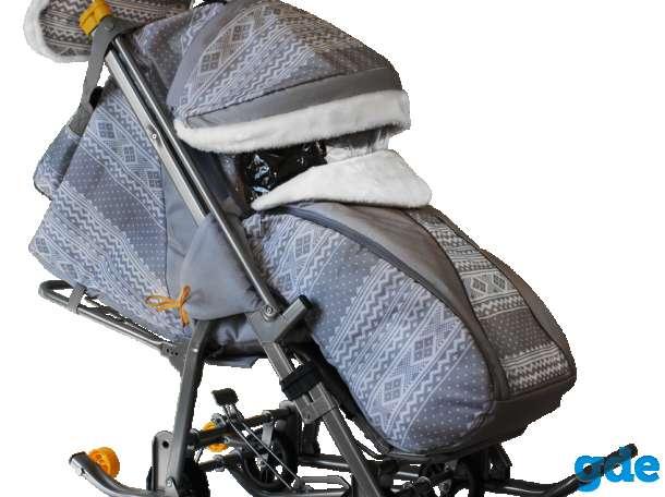 Санки-коляска «Galaxy kids 1», фотография 8
