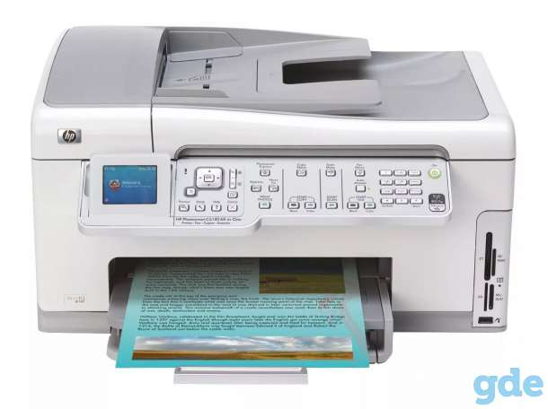 HP Photosmart C6100 All-in-One series, фотография 3
