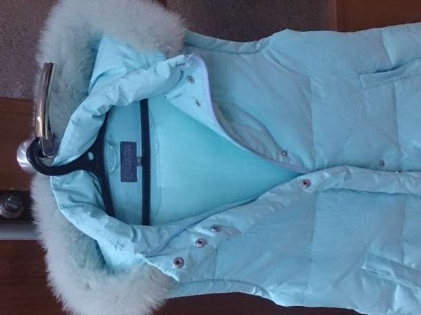 O'HARA Куртка зимняя, цвет морской волны, б/у.  , фотография 6