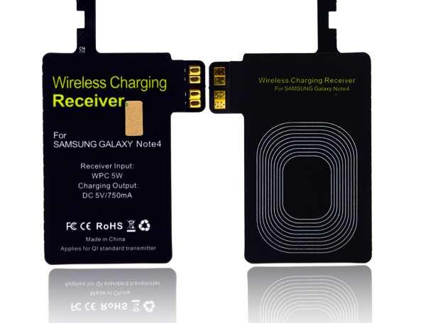Беспроводное зарядное для Samsung note 4 (Комплект) Черный, фотография 1