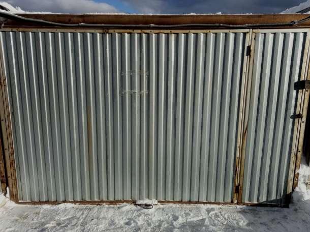 Продам или сдам в аренду охраняемый металлический гараж 21 м², МО, ул Новая, ГСК Городок, фотография 3