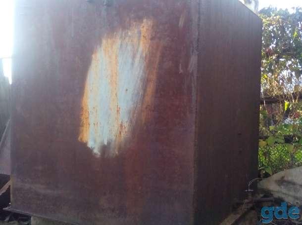 Металлическая ёмкость для воды, фотография 2