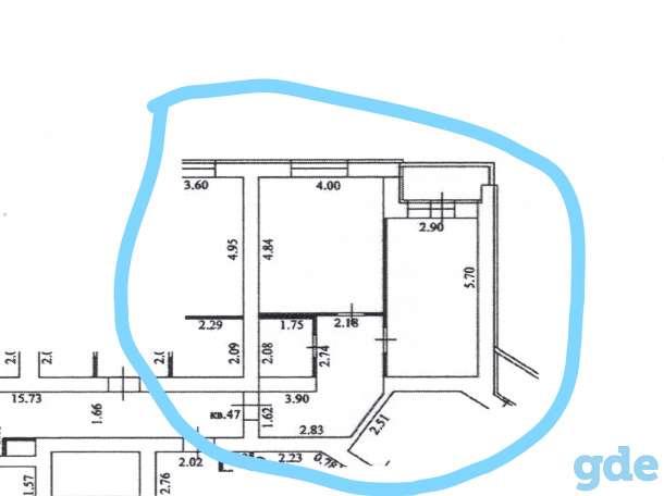 Продам однокомнатную квартиру в г Пенза 54,4 кв. м, фотография 1