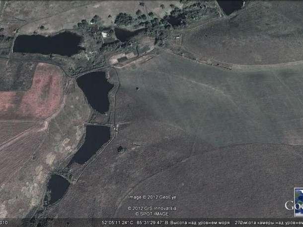 Продам земельный участок 40га с 4 зарыбленными прудами, фотография 6