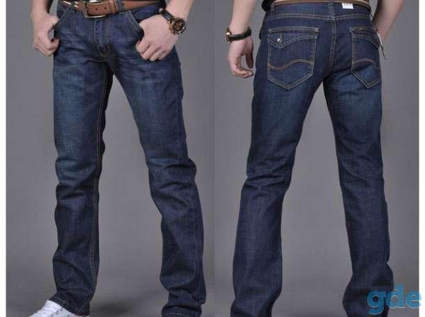 Продам новые мужские джинсы, рубашки, демисезонную куртку,, фотография 1