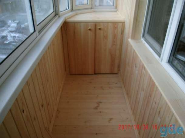 Отделка балконов,лоджий,прихожих, фотография 1