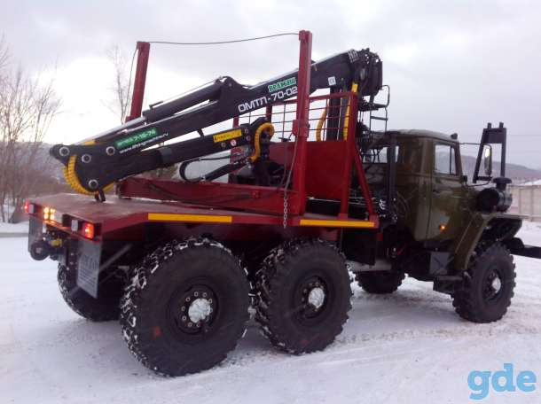 Лесовозный тягач на шасси Урал 4320, фотография 3