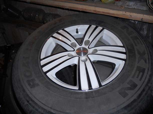 4 колеса 16 радиус с летней резиной, фотография 3