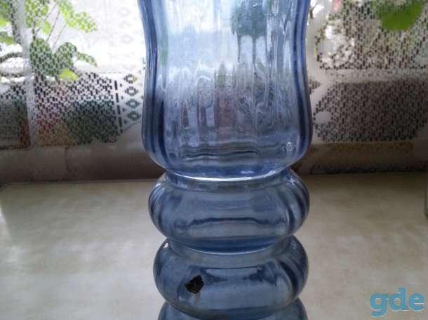 Продается голубая ваза для цветов, фотография 1