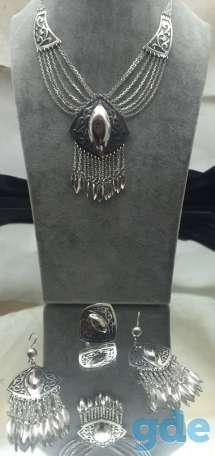 Серебряные национальные ювелирные украшения. Только оптом., фотография 5