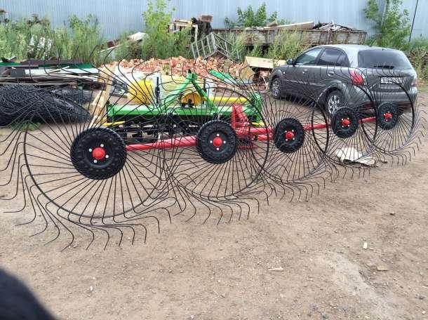 Грабли ворошилки 4-х и 5-ти колесные Турция Польша Россия, фотография 1