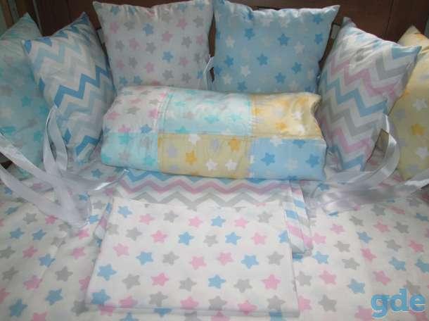 Комплект в кроватку с бортиками, фотография 1