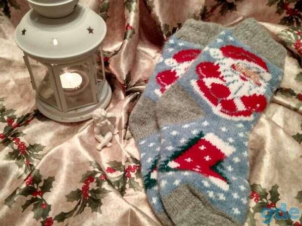 Красивые носочки из натуральной шерсти-подарок к Новому году!, фотография 4