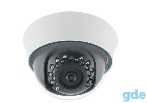 Камера видеонаблюдения внутренние и уличные  купольные, объектив варифокальный 2.8mm-12mmобъемные, фотография 3