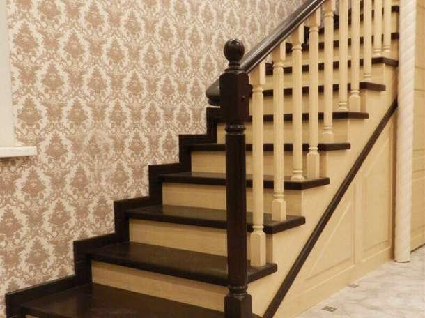 Деревянные лестницы из сосны , бука , ясеня , дуба ., фотография 1