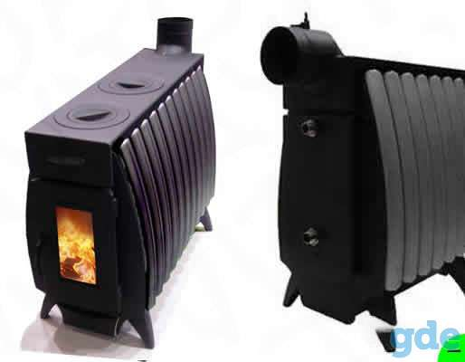 Огонь-батарея 11 Б антрацитновая печь, фотография 1