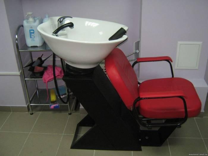 Парикмахерская мойка - важный атрибут в салоне красоты
