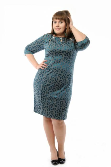 Молодёжные платья больших размеров оптом