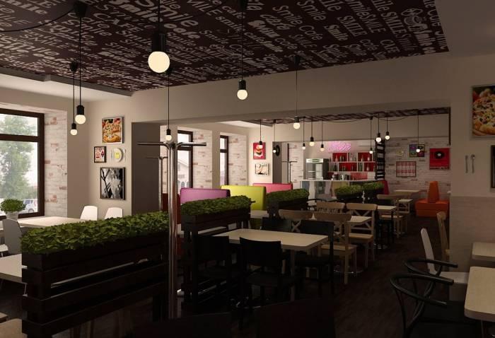Проекты дизайн кафе